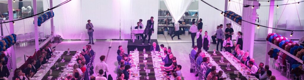 Zakelijk event diner licht huren