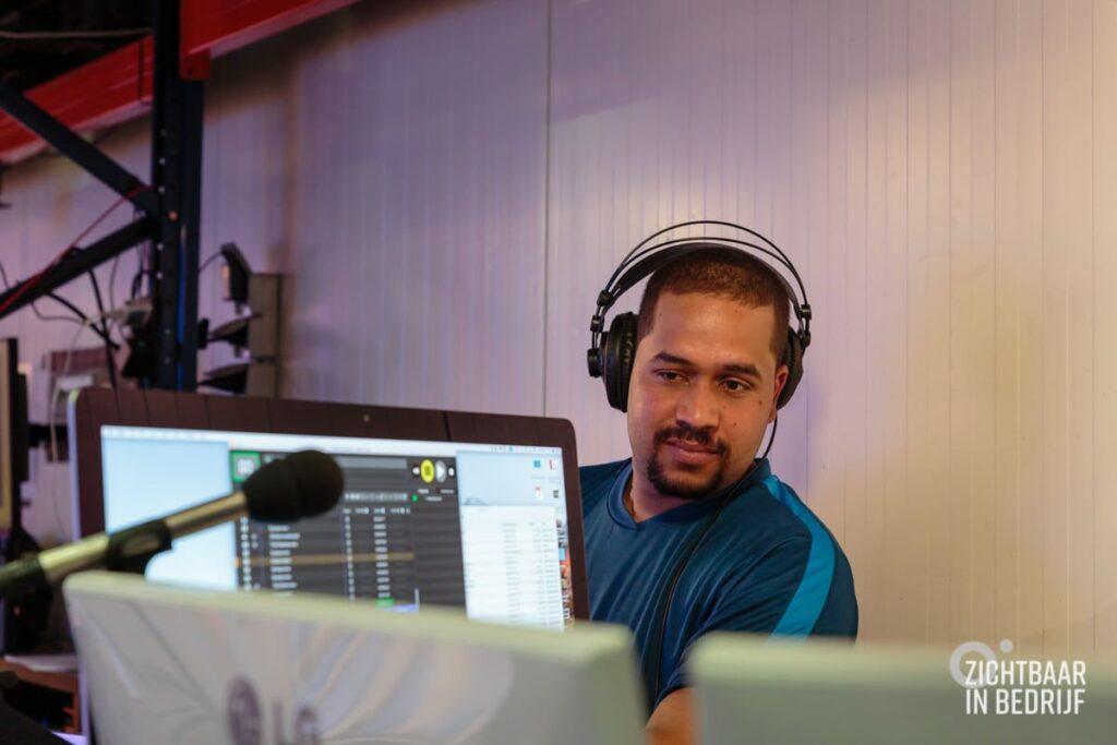 Livestream studio huren met technicus