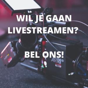 Livestream regelen