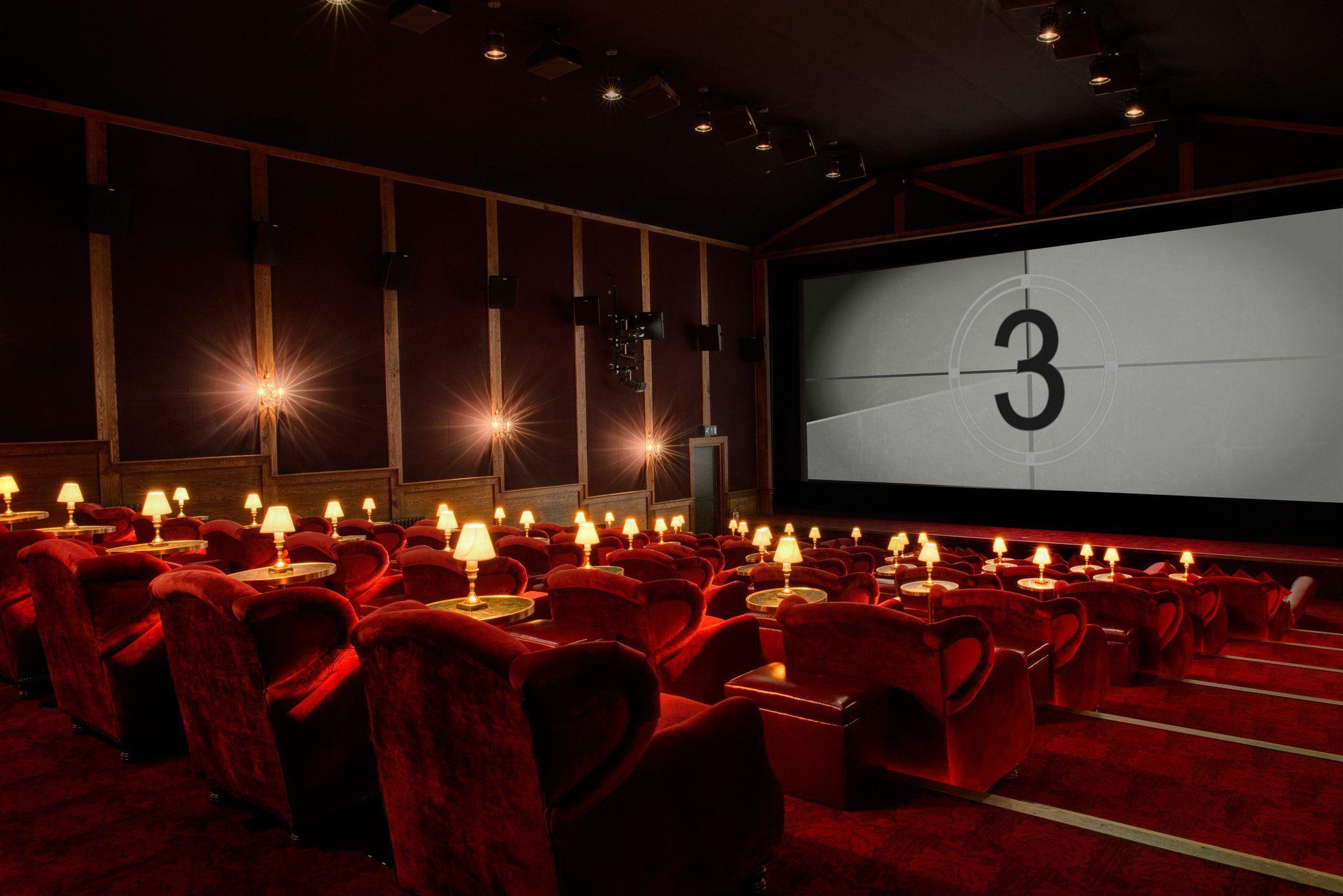 bioscoop zaal klein prive