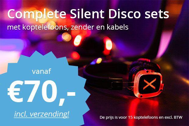 silent disco set