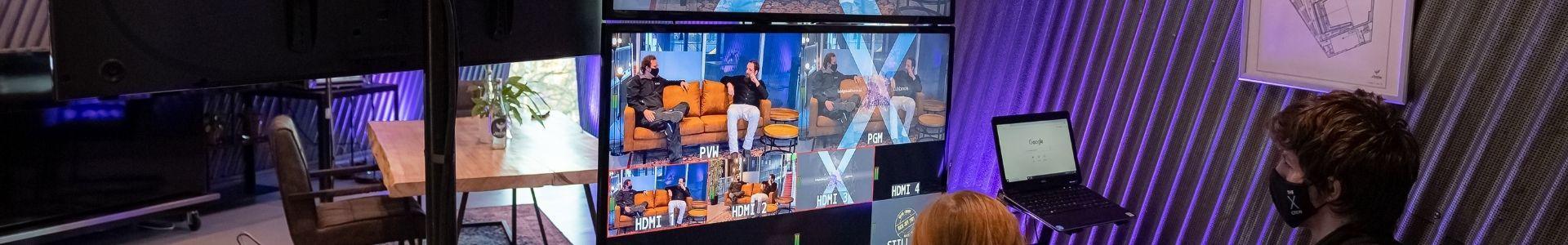 De vorstin livestream studio 1
