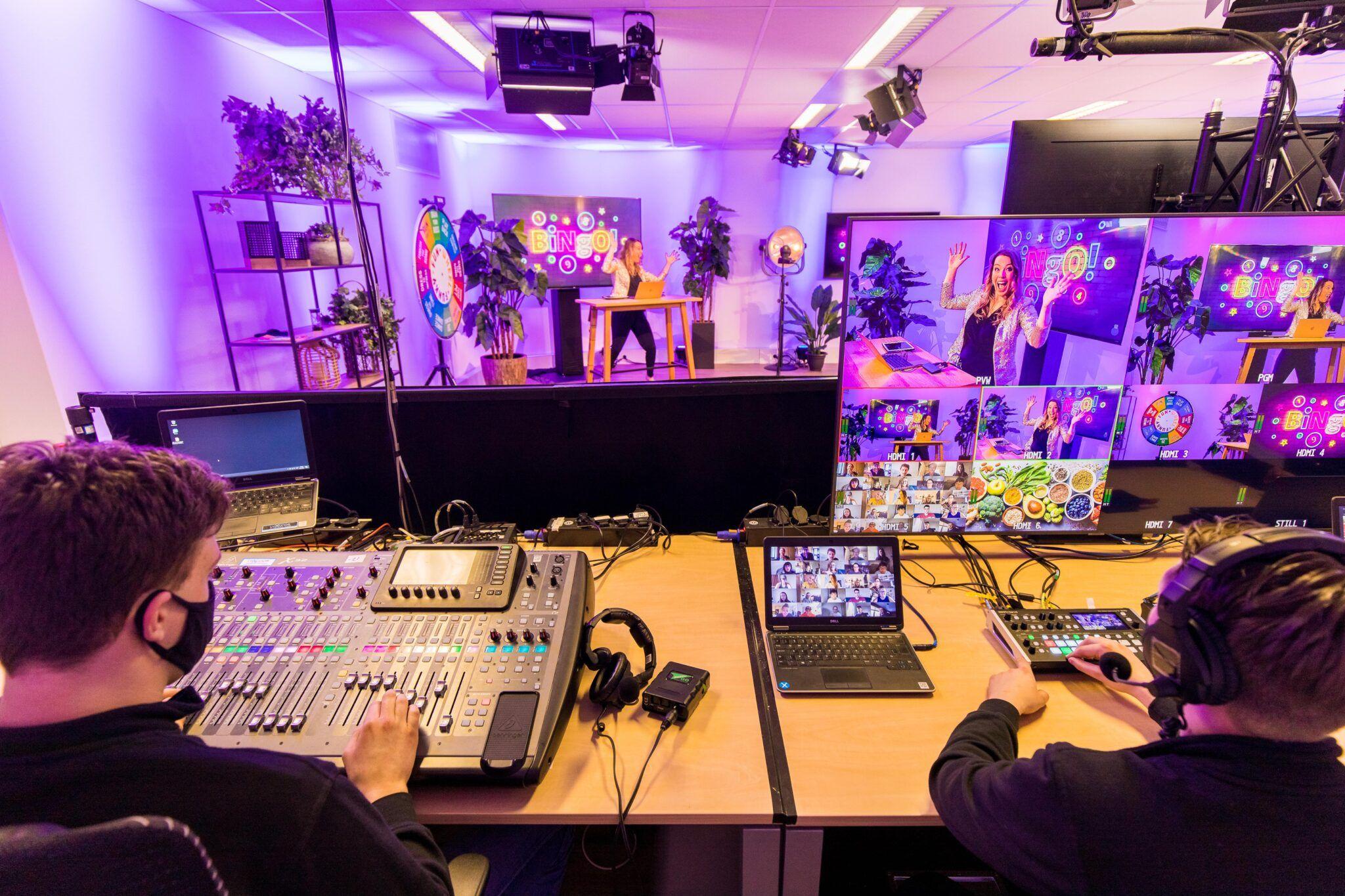 Livestream studio Rotterdam