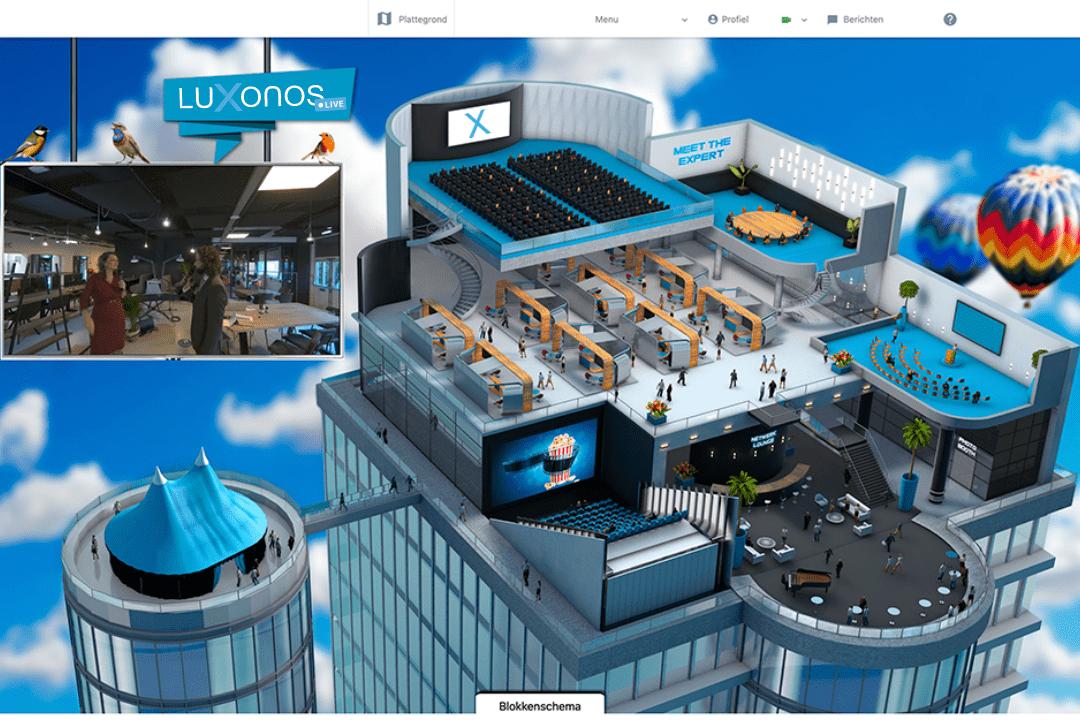 Livestream 3D platform