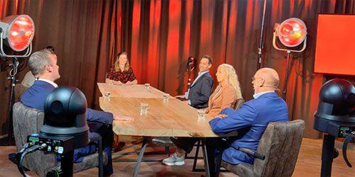 Livestream studio Hilversum kleine zaal