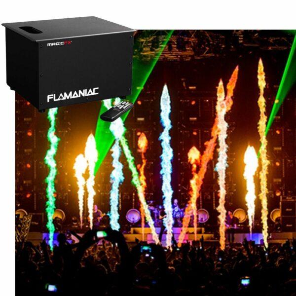 2x MagicFX Flamaniac huren