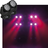 2x Movinghead 120W LED wash Phantom 120 huren