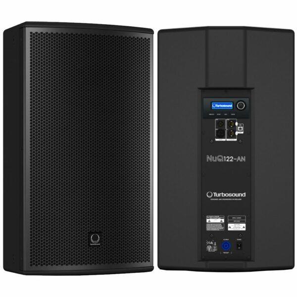 2x Speaker 12 Turbosound NuQ122-AN