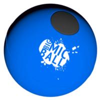 Catchbox voetbal (blauw) (exclusief ontvanger/beltpack) huren