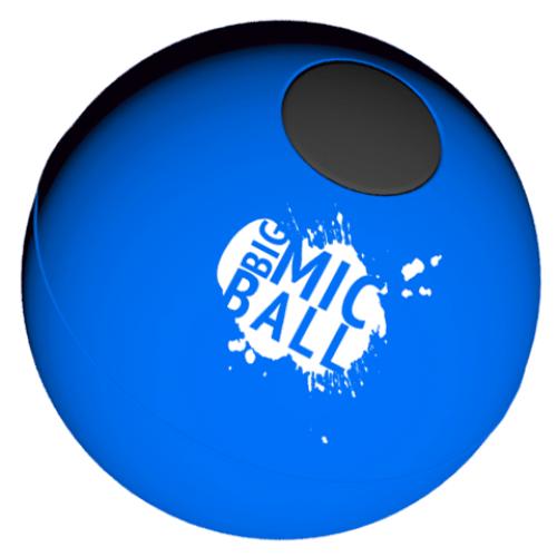 Catchbox Voetbal (blauw) (exclusief ontvanger/beltpack)