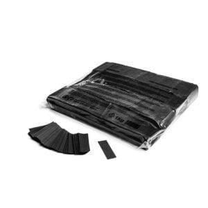 Confetti zwart papier 1kg