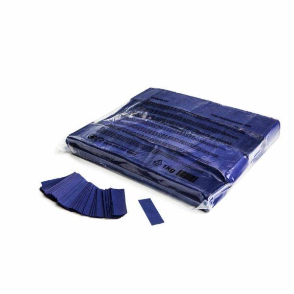 Confetti donkerblauw papier 1kg