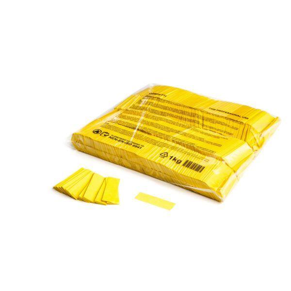 Confetti geel papier 1kg