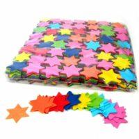 CON03MC – Confetti sterren multicolor papier 1kg kopen