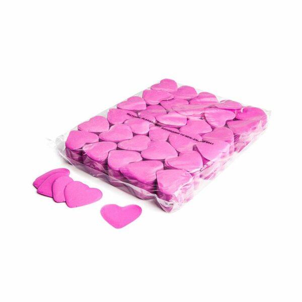 Confetti hartjes roze papier kopen