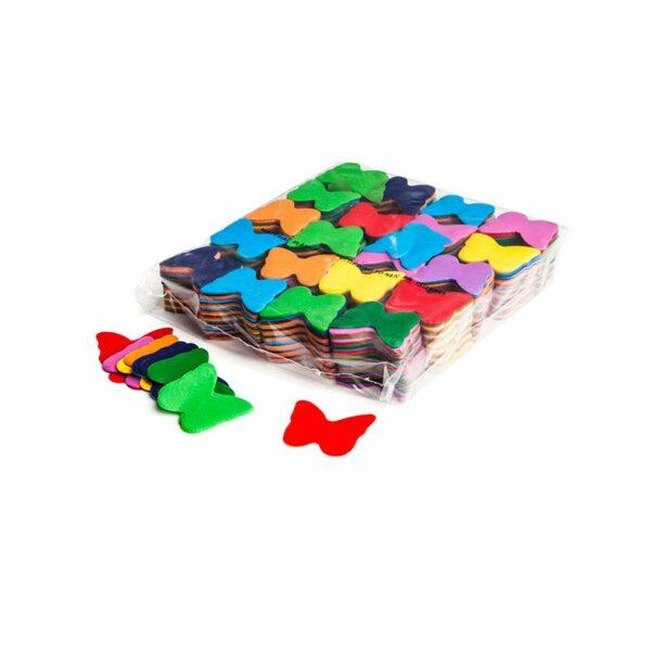 Confetti vlinders multicolor papier 1kg