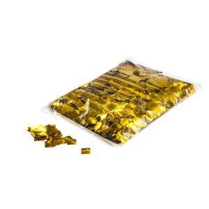 Confetti vierkantjes goud metallic 1kg