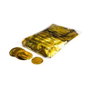 Confetti rondjes goud metallic 1KG