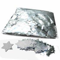 CON14SL – Confetti sterren zilver metallic 1kg kopen