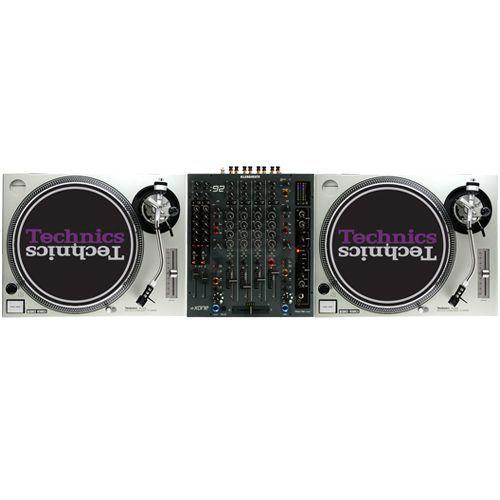 DJset (2xSL 1200 + Xone 92)