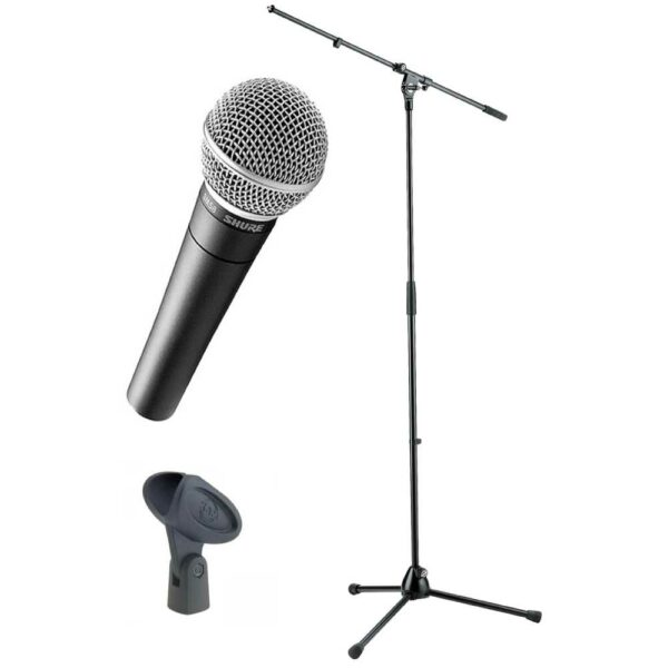 Draadgebonden microfoon (SM58) met statief