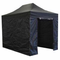 easy up regieparty tent 3x3m zwart 126012