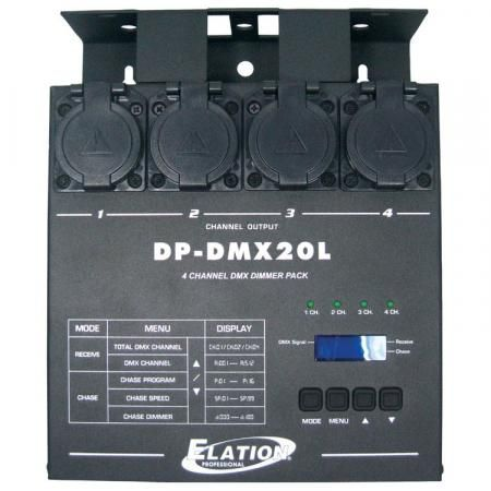 Elation Dim Switchpack 4ch dmx