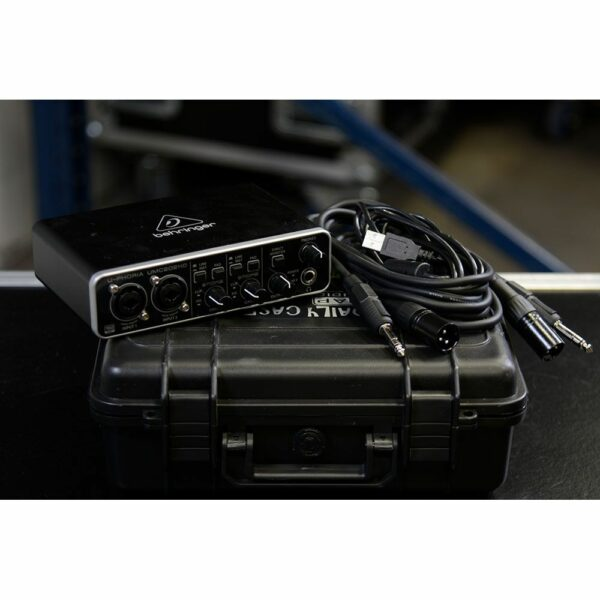 Externe geluidskaart Behringer U-Phoria UMC202HD