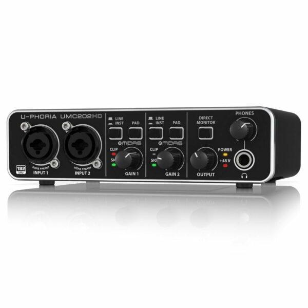 Extender geluidskaart Behringer U-Phoria UMC202HD