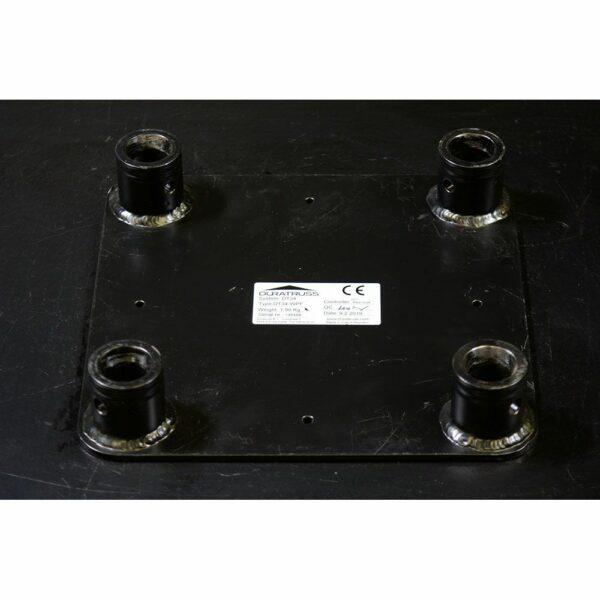 FD34 female baseplate truss klein zwart