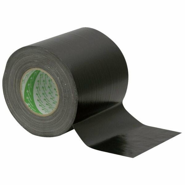 Gaffa tape zwart 150mm 50m Luxonos kopen