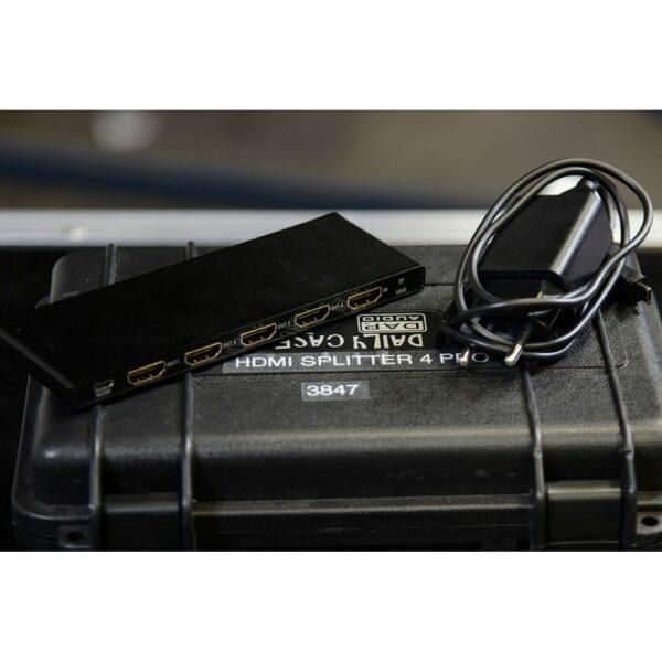 HDMI splitter 4 poorts PRO