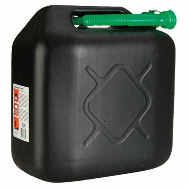 Jerrycan 20 liter benzine voor aggregaat