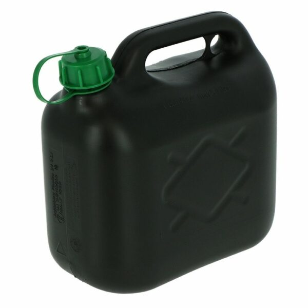 Jerrycan 5 liter benzine voor aggregaat