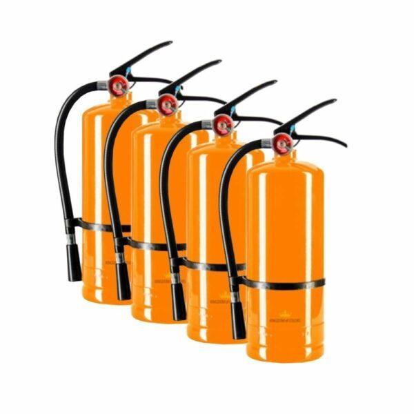 Koningsdag: 4x Color blaster Oranje 3KG kopen