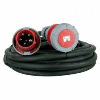 Krachtstroom Kabel 63A | 10 Meter huren