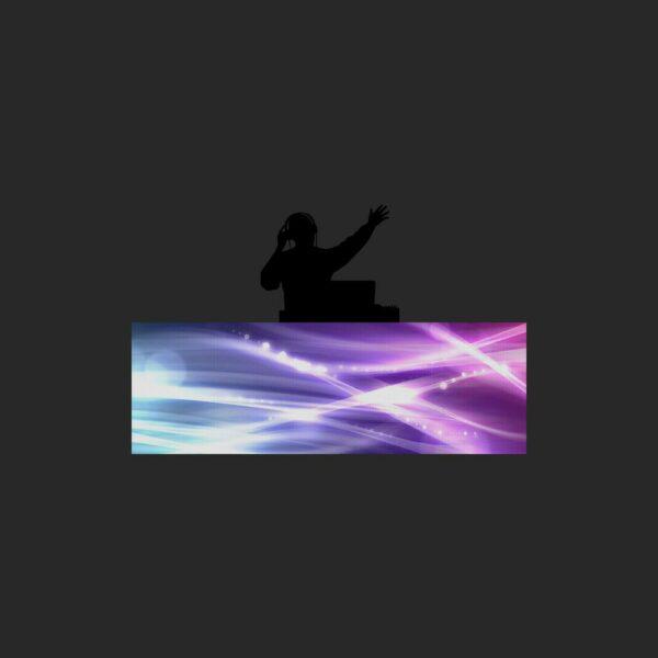 LED DJ Booth scherm 3x1meter