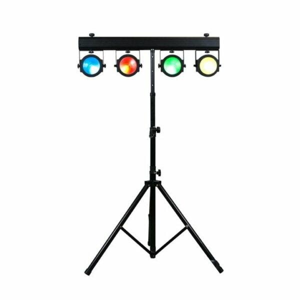 Lichtset 1: 1x 4 LED spots COB