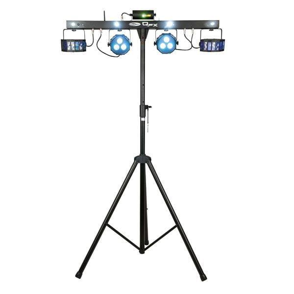 Lichtset 3: 1x QFX multi-effect fourbar 45W LED