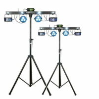 Lichtset 4: 2x QFX multi-effect fourbar 45W LED huren