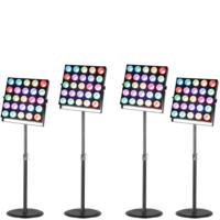 Lichtset 6: 4x Cameo Matrix 5×5 op verstelbaar statief huren