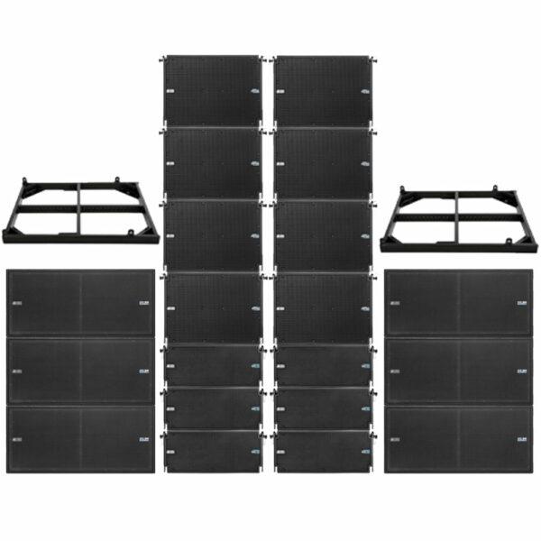 Line-array set 5 (6xS30 + 8xT12 + 6xT8)