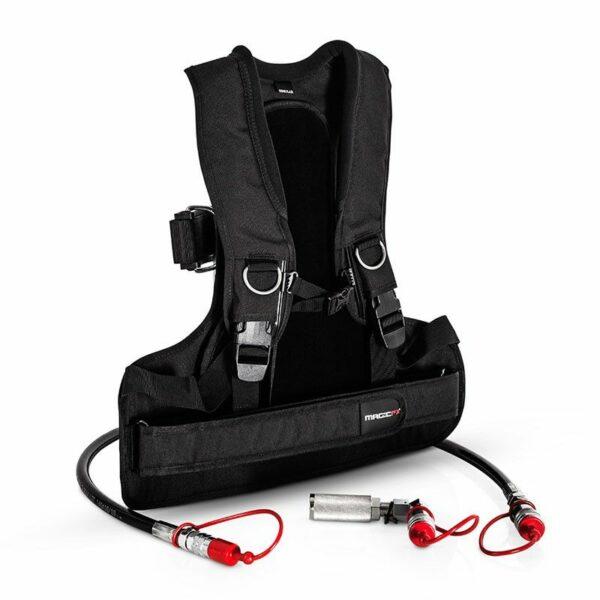 MagicFX Co2 Gun met Body Pack / backpack complete set