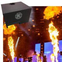 MagicFX Stage Flame regen cover huren