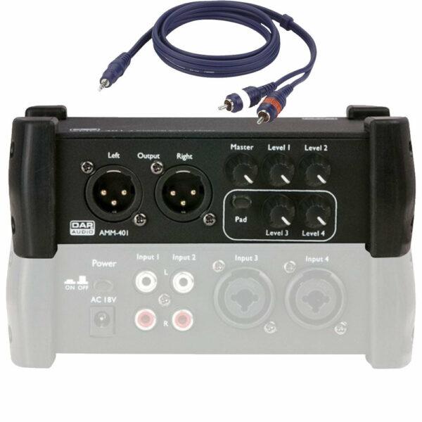 Mengtafel 4 kanaals DAP AMM-401
