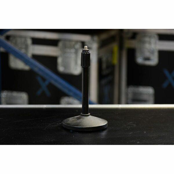 Microfoonstatief tafel huren