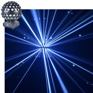 Luxonos LED Mirrorball Licht effect