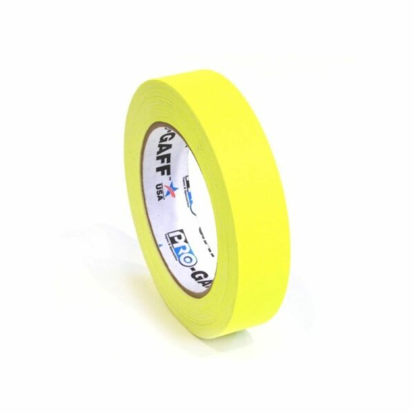 Neon Gaffa Tape Geel 19mm 25m kopen