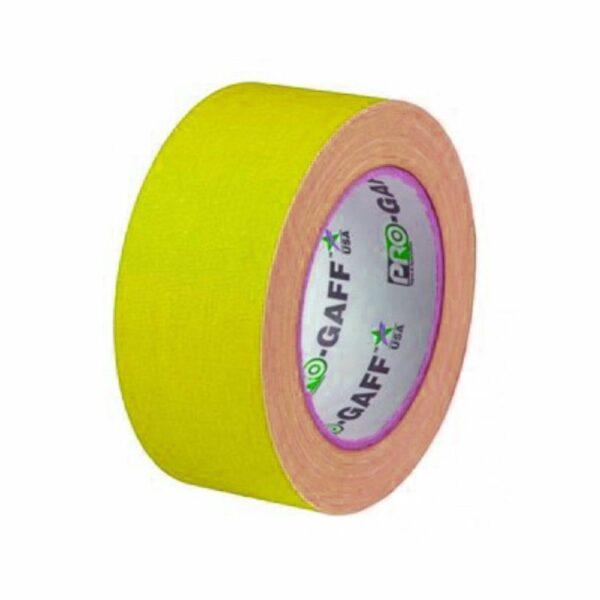 Neon Gaffa Tape Geel 50mm 25m kopen