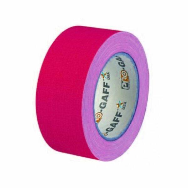 Neon Gaffa Tape roze 50mm 25m